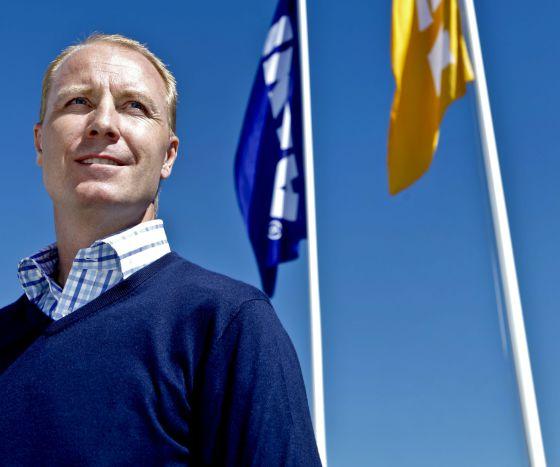 Peter Agnefjäll, presidente de Ikea.