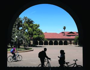 Campus de la Universidad de Stanford, en Palo Alto (California).