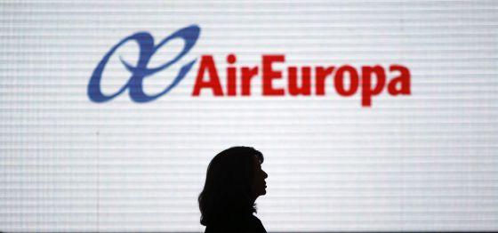 Imagen de Air Europa en el aeropuerto Adolfo Suárez Madrid-Barajas.