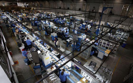 Fábrica de calzado brasileña cuyo principal cliente es el mercado chino