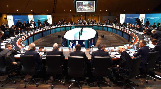 Reunión de los ministros de Finanzas y gobernadores de los bancos centrales del G20 en Cairns (Australia)