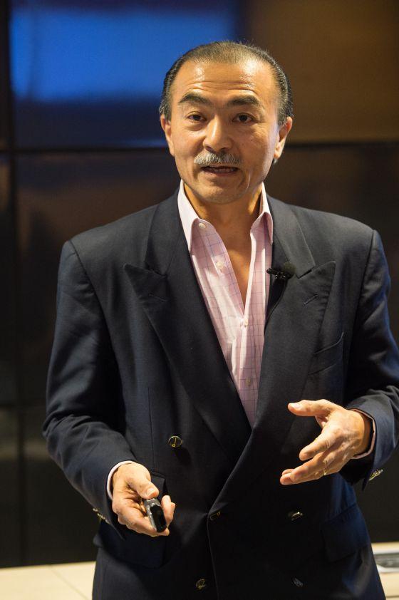 Michael Chu durante su reciente visita a Esade.