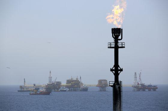 Plataformas petrolíferas de Pemex en México