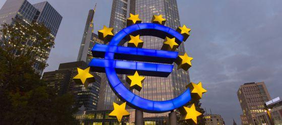 Sede del Banco Central Europeo, en Fráncfort.
