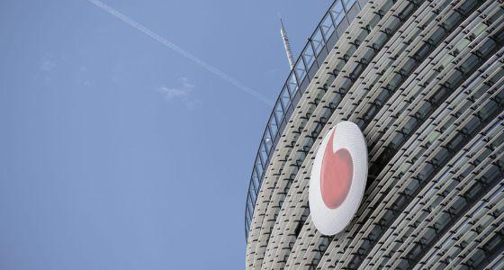 Vista general de la sede de Vodafone en Düsseldorf (Alemania).