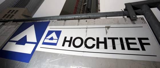 Logotipo de Hochtief, filial de ACS en Alemania.