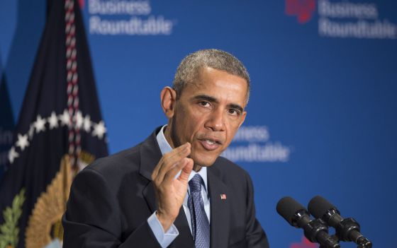 El presidente Barack Obama en la Business Roundtable