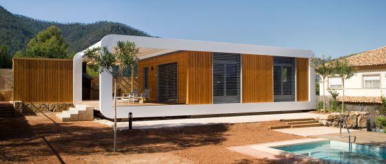 Viviendas reci n salidas de la f brica vivienda el pa s - Casas prefabricadas por modulos ...