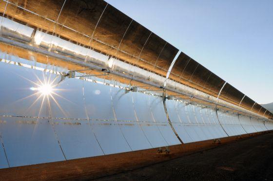 Planta solar Andasol 3, de RWE Innogy, en España