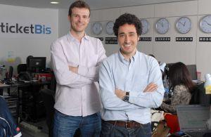 Los creadores de Ticketbis, Jon Uriarte (izquierda) y Ander Michelena.