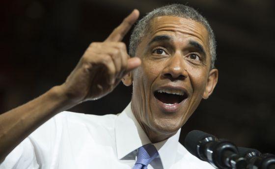 El presidente de EE UU, Barack Obama, interviene en un acto sobre el sector inmobiliario en Phoenix (Arizona) el 8 de enero de 2015.