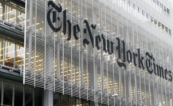 Edificio del diario en Nueva York.