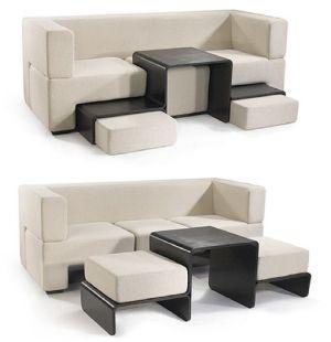 Muebles tres en uno vivienda el pa s - Muebles plegables para viviendas pequenas ...