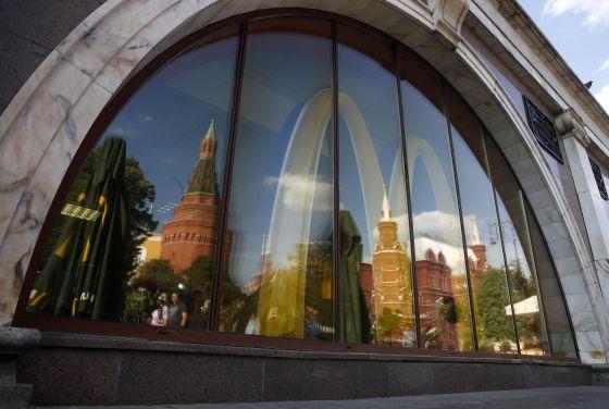 Establecimiento de McDonald's en Moscú.