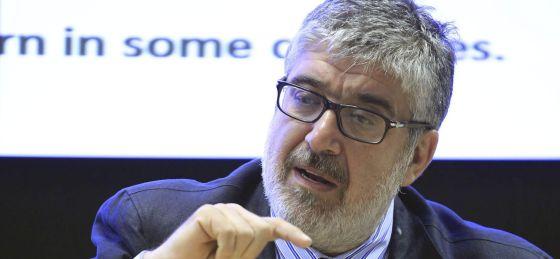 El economista jefe y gerente del Departamento de Investigación del Banco Interamericano de Desarrollo ( BID) , José Juan Ruiz.