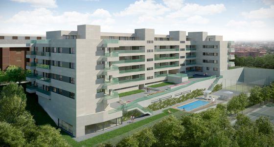 42 viviendas de hasta cinco dormitorios al norte de madrid for Idealista puertas verdes