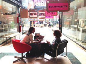 El espacio de coworking de TeamLabs en Madrid.