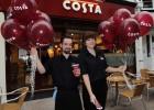 Costa Coffee desafía a Starbucks en España con 20 nuevas cafeterías