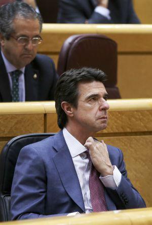 José Manuel Soria en el Congreso.