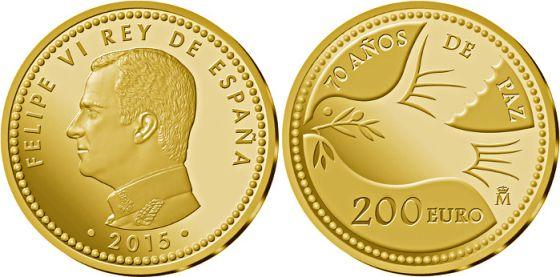 Moneda de Felipe VI