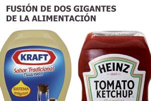 Kraft Foods se fusiona con Heinz