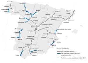 Un estudio concluye que ninguna línea española de AVE es rentable