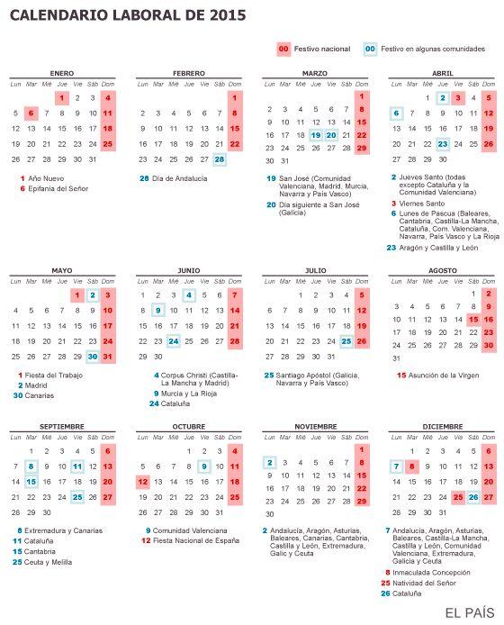 Por su parte, el 25 de julio (Santiago Apóstol) solo será festivo en ...