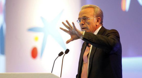 El presidente de La Caixa, Isidro Fainé