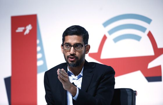 Sundar Pichai,responsable de Android y promotor del proyecto Fi
