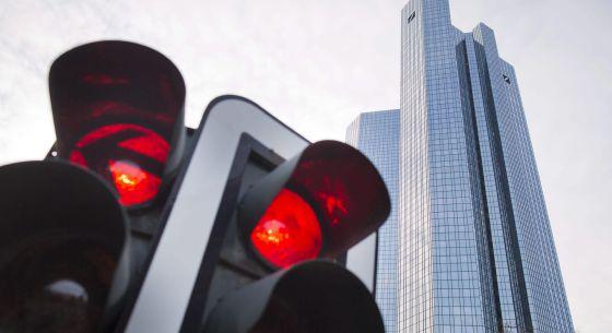 La sede del Deutsche Bank en Fráncfort el 23 de abril de 2015.