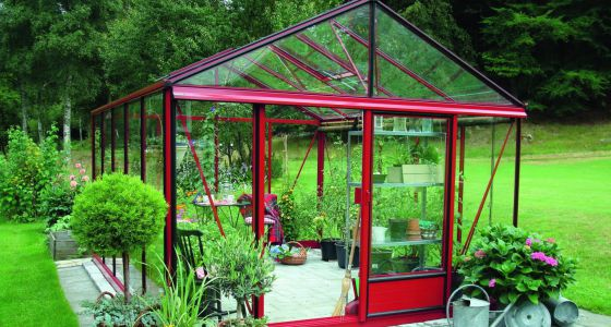 Invernaderos pensados para el cultivo y el descanso - Invernaderos de cristal ...