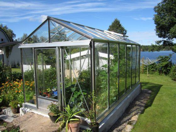 Invernaderos pensados para el cultivo y el descanso for Plantas para invernadero