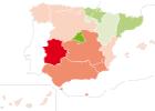 Trece comunidades españolas, entre las más pobres de Europa