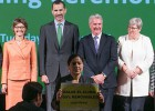 El Rey pide un compromiso contra el cambio climático a las empresas