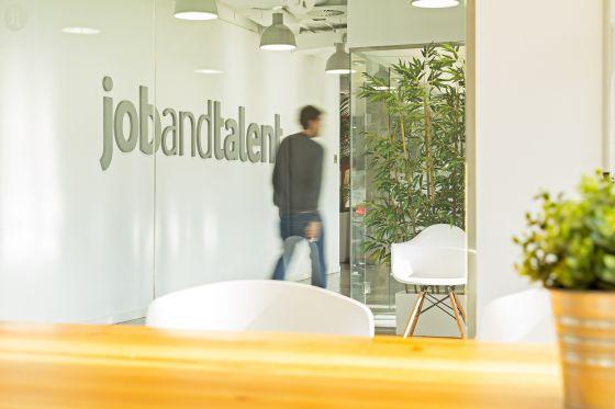 Sede de la plataforma de búsqueda de empleo.