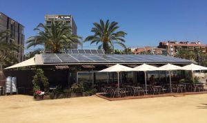 El restaurante Lasal del Varador, en Mataró, genera un 65% de la energía que consume con su instalación fotovoltaica.