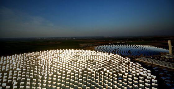 Planta solar de Abengoa.