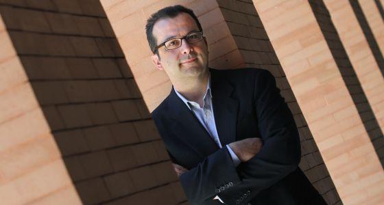 Julio Contreras en la Universidad Complutense de Madrid.