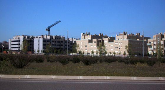 Viviendas de nueva construcción en Madrid.