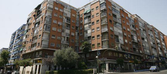 Edificios de viviendas en un barrrio de Madrid.
