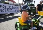 La protesta en el sector lácteo logra parte de sus reivindicaciones