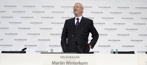Martin Winterkorn, exjefe de Volkswagen