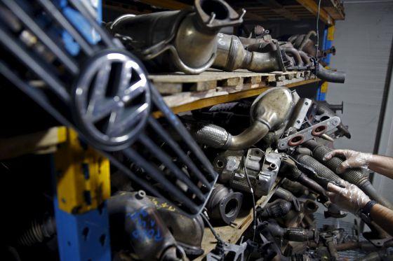 Fábrica de automóviles de Volkswagen en Bosnia-Herzegovina.