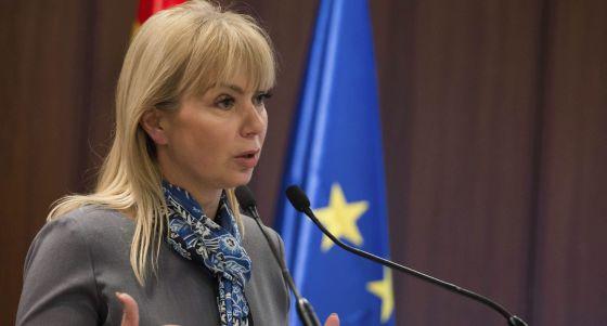 La comisaria de Industria, Elzbieta Bienkowska.