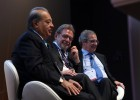 Slim y Alierta creen que América Latina es un buen sitio para invertir