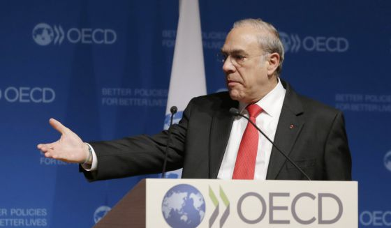 Angel Gurria, el secretario general de la OCDE