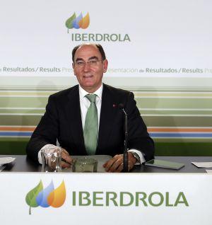 El presidente de Iberdrola, Ignacio Sánchez Galán, durante la presentación de resultados de los tres primeros trimestres de 2015.