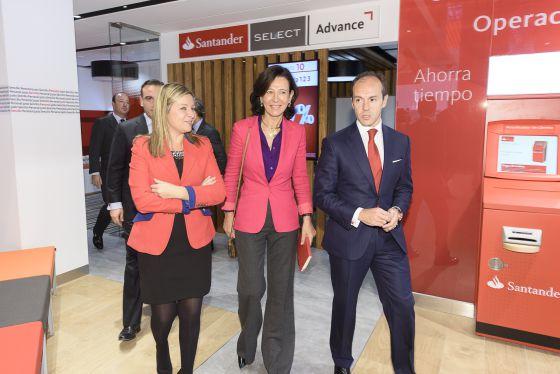 La sucursal del futuro ya est aqu econom a el pa s for Banco santander oficina central madrid