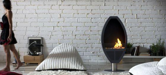 La llama que decora los pisos vivienda el pa s - Cuanto consume una chimenea de bioetanol ...