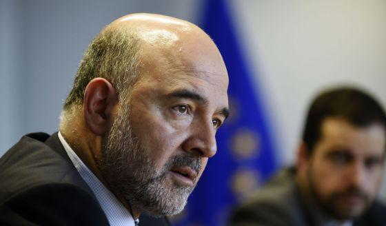 El comisario de Asuntos Económicos y Financieros, la semana pasada en Bruselas.